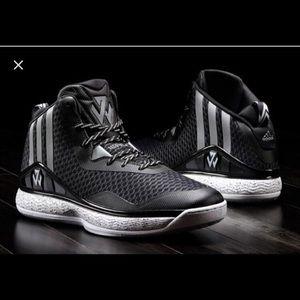 Boys Adidas John Wall 1 shoes size 4.5